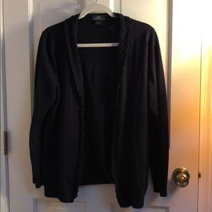 Brooks brothers navy open cardigan
